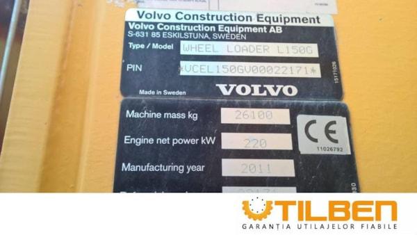 Incarcatoare Frontale  Volvo L150G
