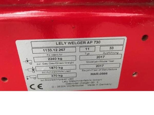 Prese de Baloti  Lely WELGER AP-730