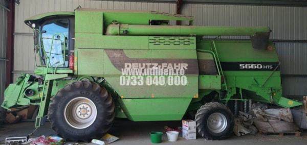 Combine Agricole  Deutz-Fahr 5660 HTS