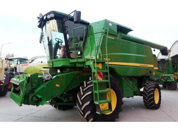 Combine Agricole  John Deere T 550 HILLMASTER