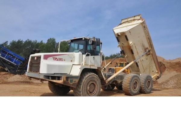 Dumpere  Terex TA35