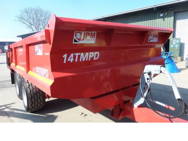 Remorci Agricole  JPM 14 TONNE MULTI PURPOSE DUMP TRAILER