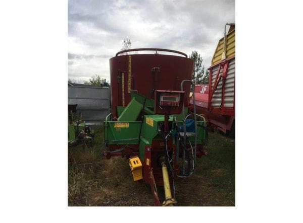 Remorci Agricole  Strautmann 17 twin auger